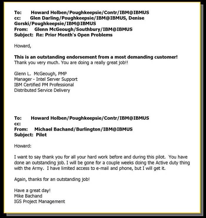 Howard Holben Information Technology Professional